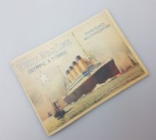 Titanic / Olympic 3rd Class Accommodation Brochure (Replica)
